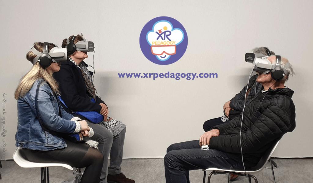 enseigner en réalité virtuelle