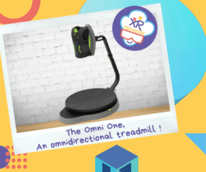 The OmniOne, an omnidirectional treadmil !
