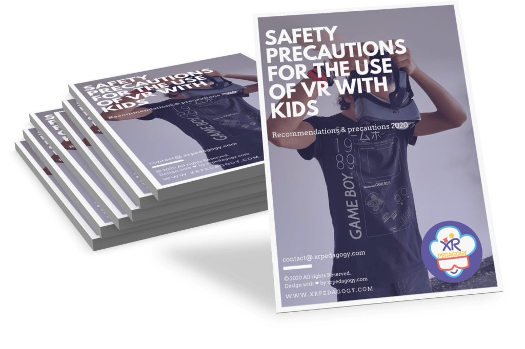 Safety precautions for the use of VR with kids