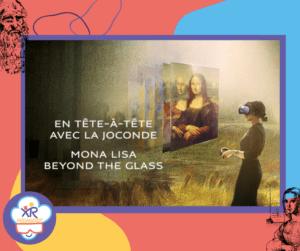 Image de l'expérience de réalité virtuelle Mona Lisa: Beyond the Glass