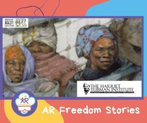 AR Freedom Stories est une application de réalité augmentée qui raconte l'histoire des hommes et femmes afro-américain qui se sont échappés de l'esclavage